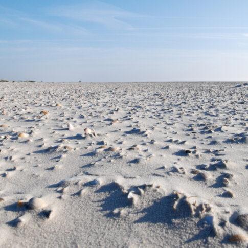 Mariella Knabe - Weite - Nichts als Gegend mit Sand, Muscheln, Himmel. Ein Inbegriff von Freiheit