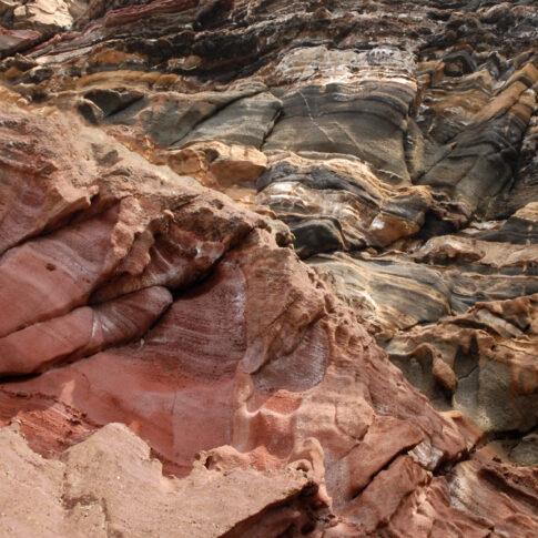 Mariella Knabe - Erdgeschichte - Madeira ist eine Insel vulkanischen Ursprungs. Hier kann man die Geologie, die Entstehungsgeschichte der Insel mit Händen greifen.